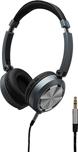 MONACOR MD-460 Design-Stereo-Kopfhörer, Offenes System, Ohrmuschel zusammenklapp- und drehbar, gepolsterte Ohrkissen, Kopfauflage, sehr gute akustische Performance Design-stereo-kopfhörer