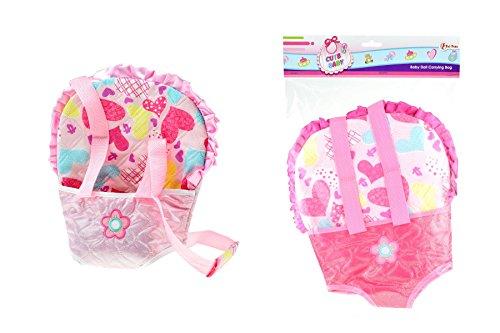 toi-toys-sac de Portage bebé 2varios accesorios de fiesta, 02051z, multicolor