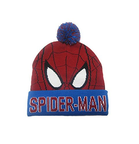 Marvel Ultimate Spiderman mask offiziell Nue Junior Mütze (With Spiderman Hoodie Mask)