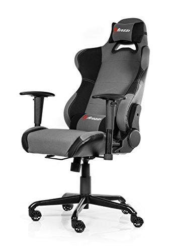 Arozzi Gaming Stuhl TORRETTA schwarz/grau