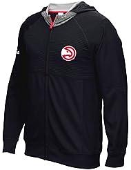 "Atlanta Hawks Adidas 2016 NBA Men's On-Court ""Pre-Game"" Full Zip Hooded Jacket Veste"