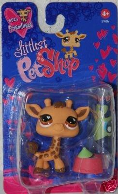 Littlest Pet Shop - FRIENDLIEST - Giraffe # 526 -