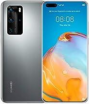 Huawei P40 Pro Single SIM and E-SIM - 256GB, 8GB RAM, 5G - Silver Frost