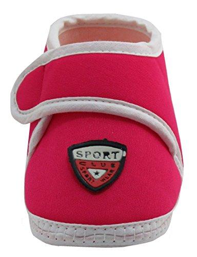 Neska Moda Baby Boys & Girls Sport Rani Booties For 0 To 12 Months Infants