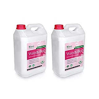 RHS 2 x 5L Weed killer | Advanced Glyphosate Free Formula | Effective within 24 h | Great Value