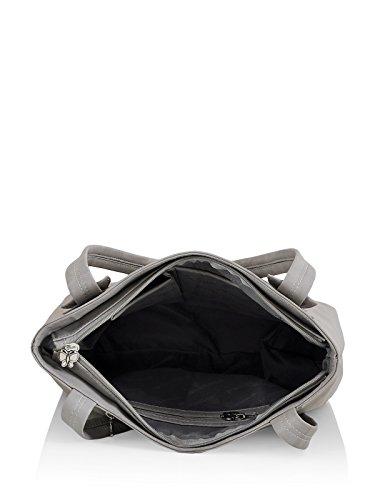 Butterflies Women's Handbag (Grey) (BNS 0595GY)