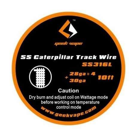Caterpillar Wire Geek Vape SS 316 L