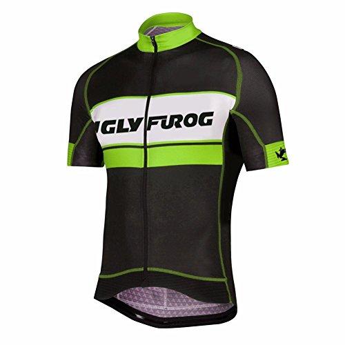 UGLYFROG Bike-T Full Zip Radsport Trikots Herren Cyling Top #H33 (Jersey Zip Adidas-full)