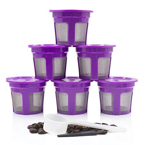 rverwendbar k-cup Filter Kaffee Universal Edelstahl Ersatz Mesh-für Keurig 2.0Classic 1.0 ()