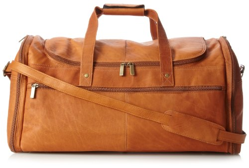 david-king-co-extra-large-multi-pocket-duffel-tan-one-size