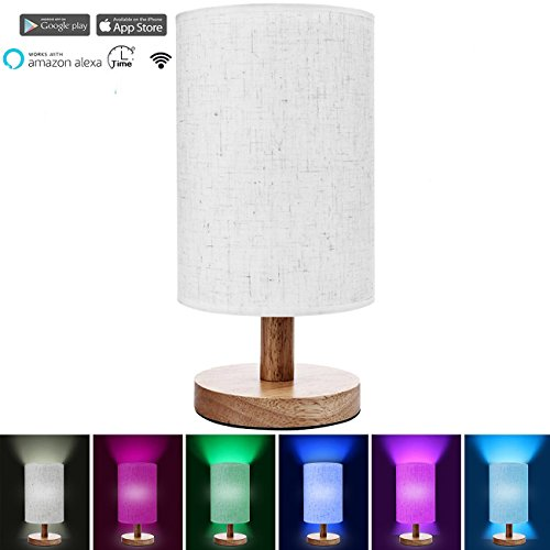 Smart Home Wifi Table Lamp Work with Android and IOS System