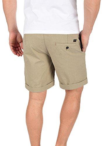 PRODUKT Senór Herren Chino-Shorts kurze Hose Business-Shorts aus 100% Baumwolle Elmwood