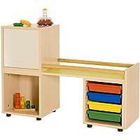 mobeduc für Erste Schritte, Holz, Apple Green, 118x 86x 40cm preisvergleich bei kinderzimmerdekopreise.eu