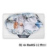ONEBUYONE Komfort-Baby-Maßstab Digital Baby Gewichtskala Portable Baby-Tray, um das Gewicht von...