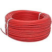Cofan 51002554R Rollo de Cable, Rojo, 1 x 1.5mm, 100 m