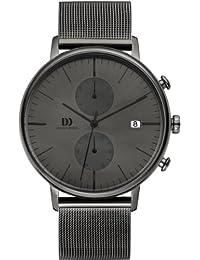 Danish Design Herren-Armbanduhr Analog Quarz Leder IQ64Q975