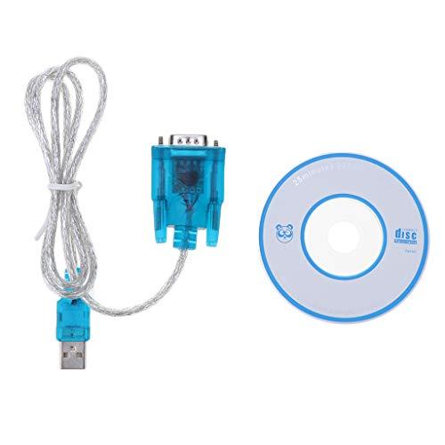Almencla 2,6 Fuß USB 2.0 Auf RS232 DB9 Serial Port Adapter Konverterkabel Für PC Windows XP, 2000, 98,98SE / Laptop Palm Converter