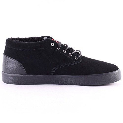 Element Element Preston B Herren Skateboardschuhe, Sneakers Hautes homme Black Black