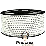 High Quality Waterproof LED Rope Light With Adapter For Decoration - 10 - Meters - White Color (Phoenix Light)