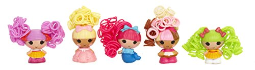 Lalaloopsy 534303GR - MGA Entertainment - Puppe - Tinies mit Haar - 5-er Pack Design 3
