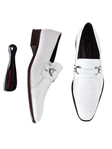 Pierre Cardin - Mocassin Pierre Cardin en cuir Justo - Blanc Blanc