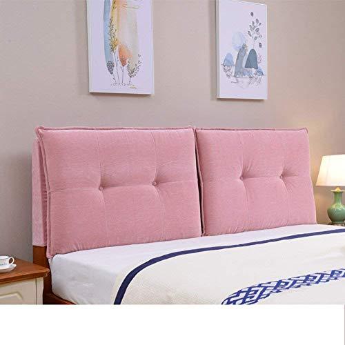 YLCJ Tatami de dormitorio Con respaldo Grande, Bolsa Suave de cabecera Simple, reposa Tela y almohada de lectura, 180x60 cm (71x24 pulgadas)