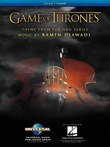 Ramin Djawadi-Ramin Djawadi: Game of Thrones - Theme-Cello und Klavier-BOOK