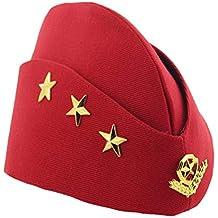 Amosfun Sombrero de Marinero Sombrero de Barco Gorra de Marinero Sombrero  de Baile Sombrero de Boina 83df3b0f864