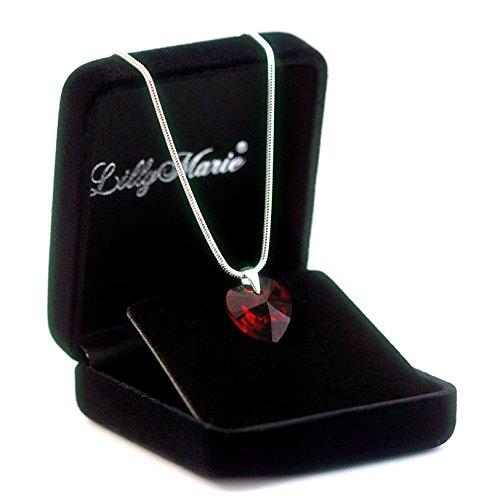 LillyMarie-Damen-Kette-Silber-925-original-Swarovski-Elements-rot-Herz-Anhnger-45-cm-mit-Schmuckbox-ideal-als-Geschenk-fr-Frau-oder-Freundin-zum-Valentinstag