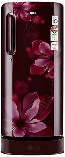 LG 188 L 1 Star Direct-Cool Single Door Refrigerator (GL-B191KSHU.ASHZEBN,...