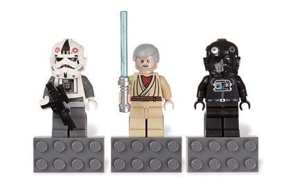 853126 LEGO Star Wars Mangetfiguren - AT-AT Driver / BEN KENOBI / TIE Fighter Pilot