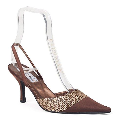 FARFALLA - Scarpe con cinturino alla caviglia donna Marrone (marrone)