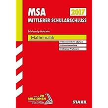 Mittlerer Schulabschluss Schleswig-Holstein - Mathematik
