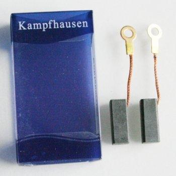 Preisvergleich Produktbild Kohlebürsten 6.3x6.3x16.5 mm für Bosch ELECTRONIC PWS PWF GSR