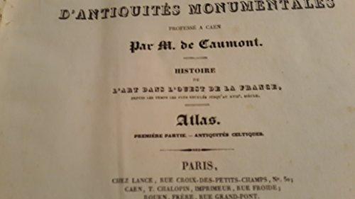 Cours d'antiquités monumentales : H...