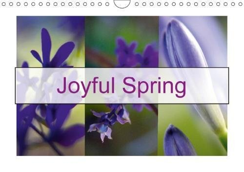 Joyful Spring (Wall Calendar 2018 DIN A4 Landscape): Spring is a wonderful experience of joy and rejuvenation (Monthly calendar, 14 pages ) (Calvendo Nature) (Framing Baum)