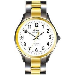 Garde' Uhren aus Ruhla Funkuhr mit Saphirglas Herrenuhr 108-36M