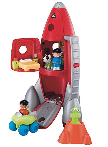 Early Learning Centre Spielfiguren und Rakete (Happy Land Rocket)