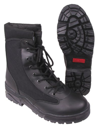 Outdoor Security-Boots 9-Loch schwarz, Gr. 38 - 47 38