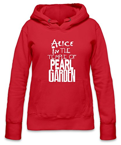 Alice In The Temple Of Pearl Garden Womens Hoodie X-Large - Pearl Garden