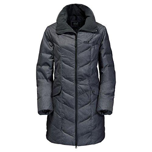 Jack Wolfskin Daunenmantel Baffin Bay Coat Damen Black X-Large