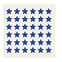 175 Star Stickers - Sticky Coloured Self Adhesive Labels for Colour Coding