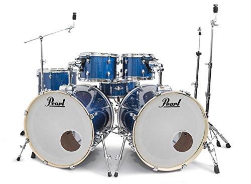 Pearl-Export-Electric-Blue-Sparkle-Double-Bass-Drum-Kit-ROCKEM-EXCLUSIVE