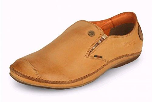 Buckaroo Men's Bentlee Tan Leather Loafers and Moccasins - 7 UK/India (41 EU)