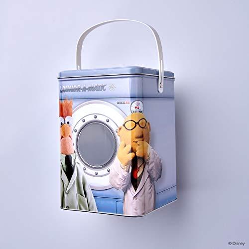 BUTLERS Muppets Waschpulverdose mit Muppet-Motiv - Blech - mehrfarbig - 15,2 x 15,2 x 22,1