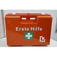 VERBANDSKASTEN Erste Hilfe Koffer Lüllmann DIN 13157 Verbandkasten inkl. Wandhalter orange 620152 preisvergleich bei billige-tabletten.eu