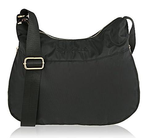 Suvelle RFID Expandable Hobo Travel Crossbody Bag, Handbag, Shoulder Bag, Purse BA20