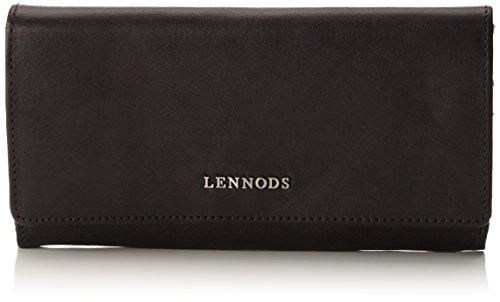 Lennods - Vintage, Portafogli Donna Nero (nero (black 01))