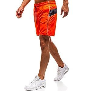 BOLF Pantaloncini da Bagno – con Coulisse - Inserti Contrastanti - Stile Sportivo – da Uomo MHM 231 Blu M [7G7] 9 spesavip