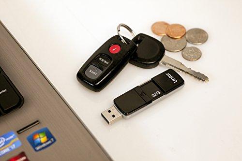 Lexar JumpDrive P20 USB 3.0 32GB Pen Drive (Black)